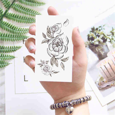 Flower - Boston Temporary Tattoos