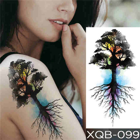 Rooted - Boston Temporary Tattoos