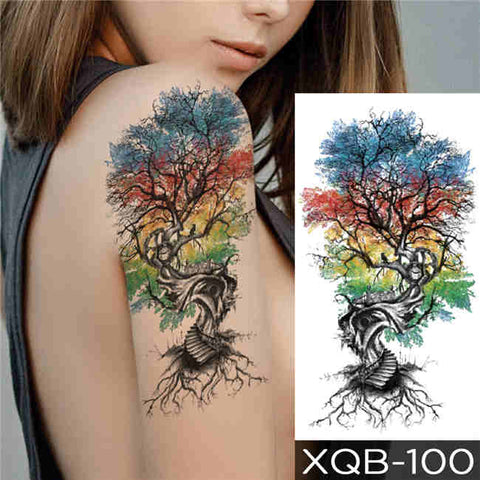 Japanese Tree - Boston Temporary Tattoos