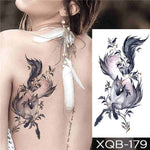 Light Wing - Boston Temporary Tattoos