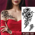 Flower Blade - Boston Temporary Tattoos