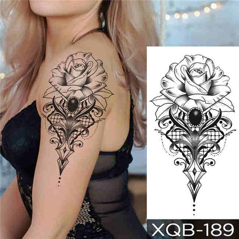 Diamond Queen - Boston Temporary Tattoos