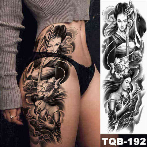 Japanese Women - Boston Temporary Tattoos