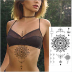 Big Sun Lover - Boston Temporary Tattoos