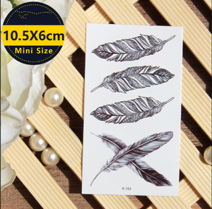 e1f24ba3a2ae7 Angel Feathers - Boston Temporary Tattoos