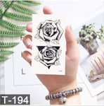 Abstract Rose - Boston Temporary Tattoos