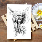 Angel Warrior - Boston Temporary Tattoos
