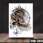 Lion Dream Catcher - Boston Temporary Tattoos