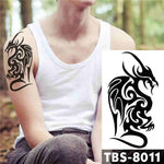Abstract Dragon - Boston Temporary Tattoos