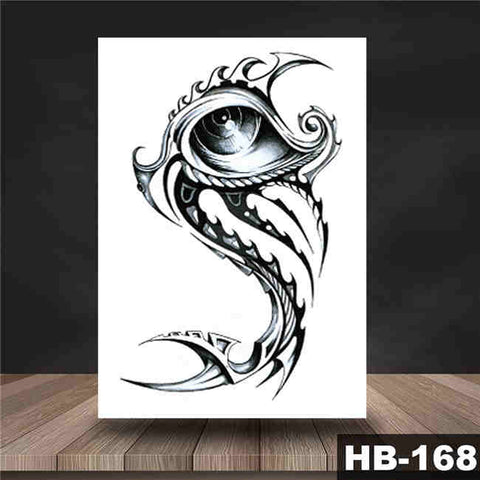 Eye Blade - Boston Temporary Tattoos