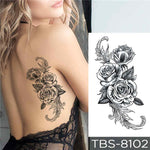 Christina - Boston Temporary Tattoos