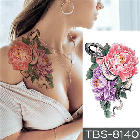Beauty Bush - Boston Temporary Tattoos