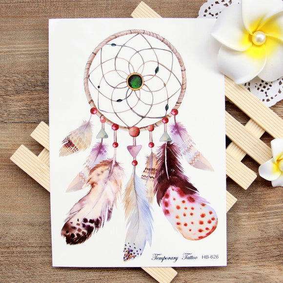 776f10fb11066 Dream Catcher - Boston Temporary Tattoos