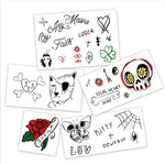 LIL UZI VERT TEMPORARY TATTOOS - Boston Temporary Tattoos