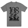 "108 ""Angel Strike Man Grey"" T-Shirt"