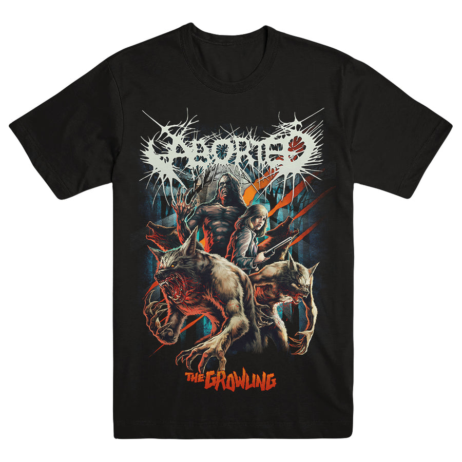 "ABORTED ""Growling"" T-Shirt"