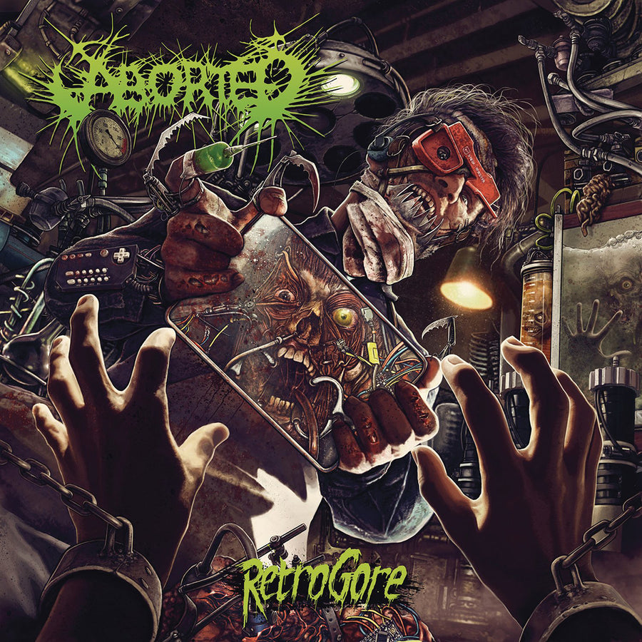 "ABORTED ""Retrogore"" CD"