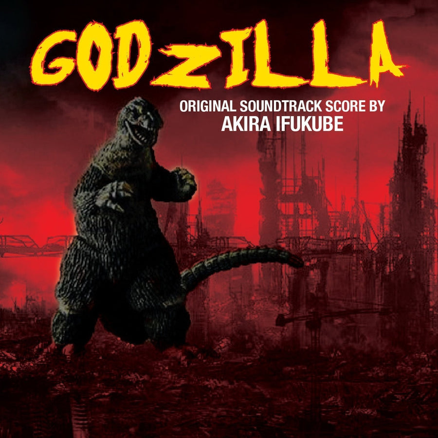 "AKIRA IFUKUBE ""Godzilla (Original Soundtrack Score)"" CD"