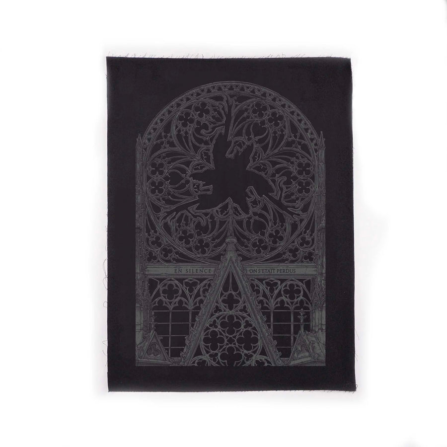 "AMENRA ""In Silence"" Backpatch"