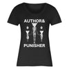 "AUTHOR & PUNISHER ""Women & Children"" Girlie T-Shirt"