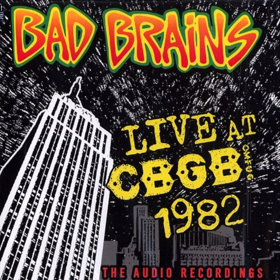 "BAD BRAINS ""Live At CBGB 1982"" LP"