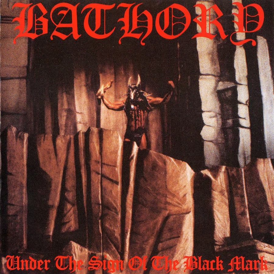 "BATHORY ""Under The Sign Of The Black Mark"" LP"