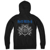"BELL WITCH ""Crest Logo"" Zipper"