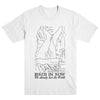 "BIRDS IN ROW ""Drawing"" T-Shirt"