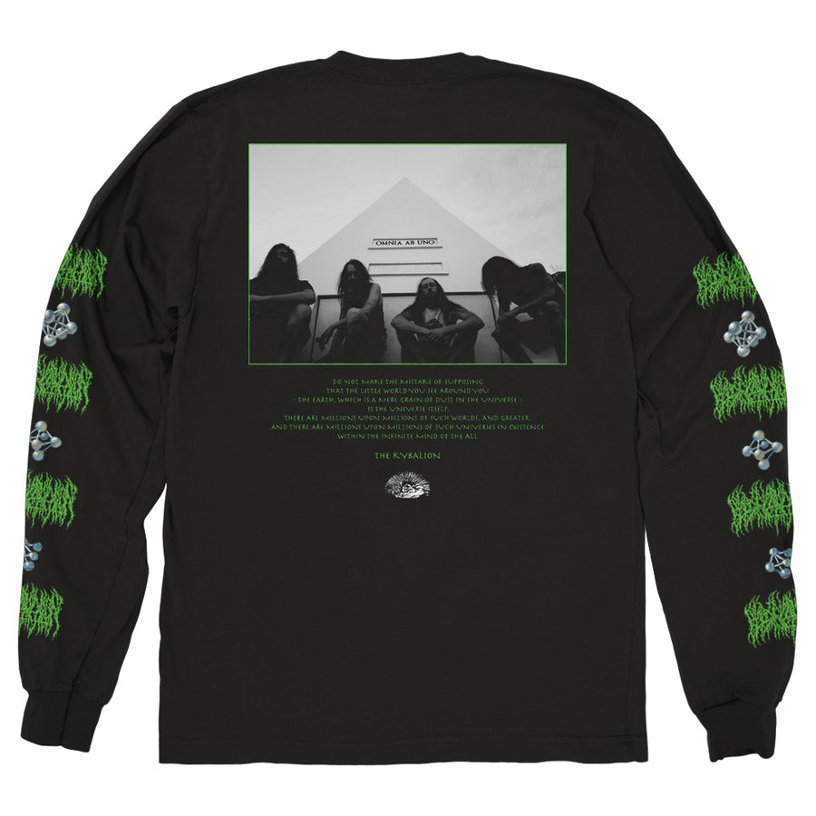 "BLOOD INCANTATION ""Hidden History Of The Human Race"" Longsleeve"