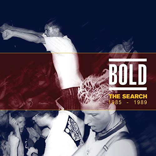 "BOLD ""The Search: 1985 - 1989"" 2xLP"
