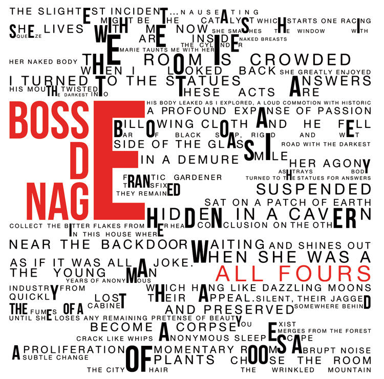 "BOSSE-DE-NAGE ""All Fours"" CD"