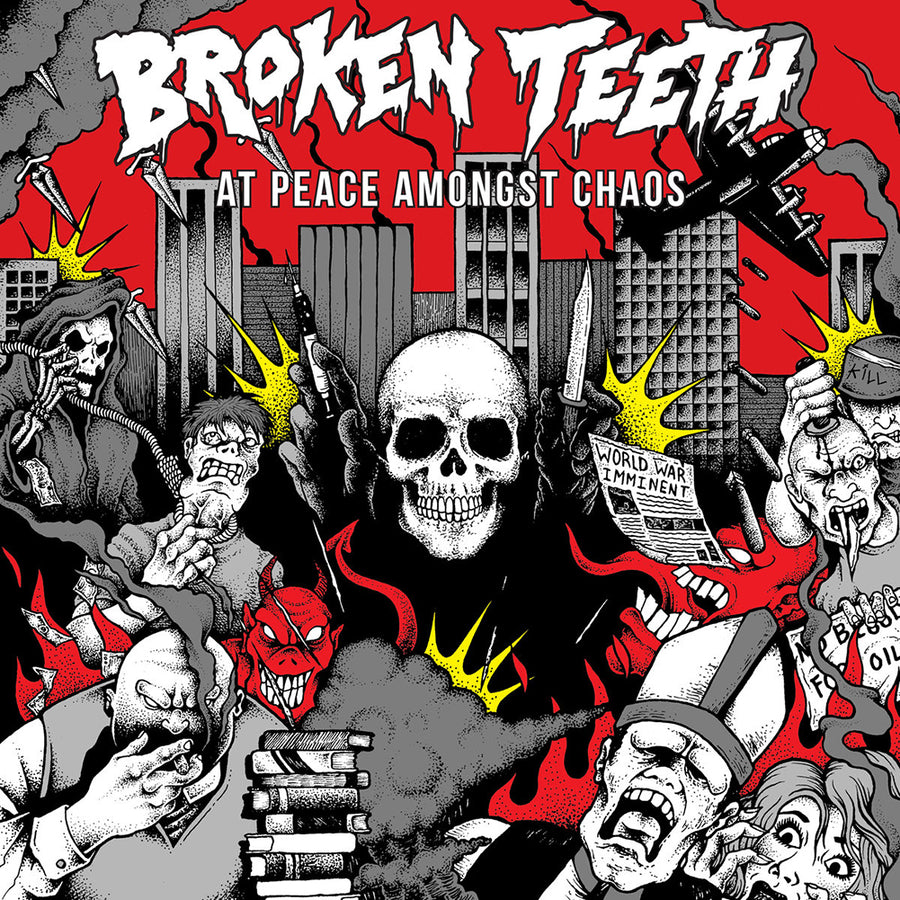 "BROKEN TEETH ""At Peace Amongst Chaos"" CD"