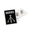 "BRUTUS ""Three Of Swords"" Enamel Pin"
