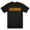 "BURN ""Face Black"" T-Shirt"
