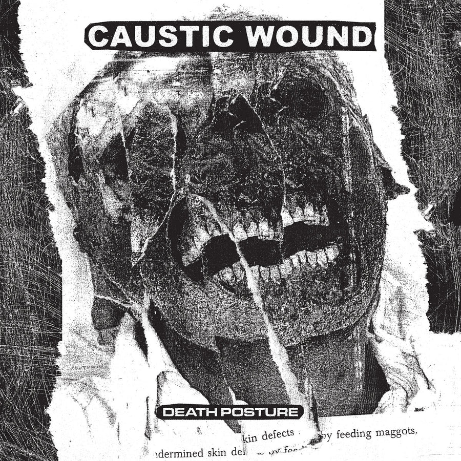 "CAUSTIC WOUND ""Death Posture"" LP"