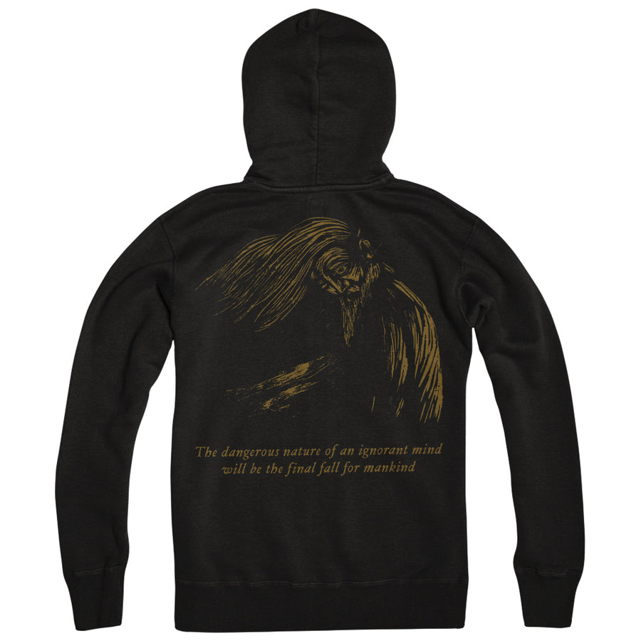 "CRIPPLED BLACK PHOENIX ""Old Dude"" Zipper"