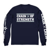 "CHAIN OF STRENGTH ""Has The Edge Gone Dull? Navy"" Longsleeve"