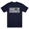 "CHAIN OF STRENGTH ""Has The Edge Gone Dull? Navy"" T-Shirt"