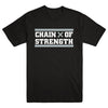 "CHAIN OF STRENGTH ""True Till Death Black"" T-Shirt"