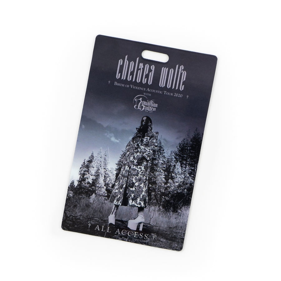 "CHELSEA WOLFE ""Birth Of Violence"" Tour Laminate"