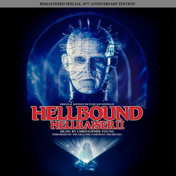 "CHRISTOPHER YOUNG ""Hellbound: Hellraiser II (Official Soundtrack)"" 2xLP"