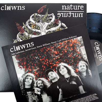 "CLOWNS ""Nature/Nurture"" LP"