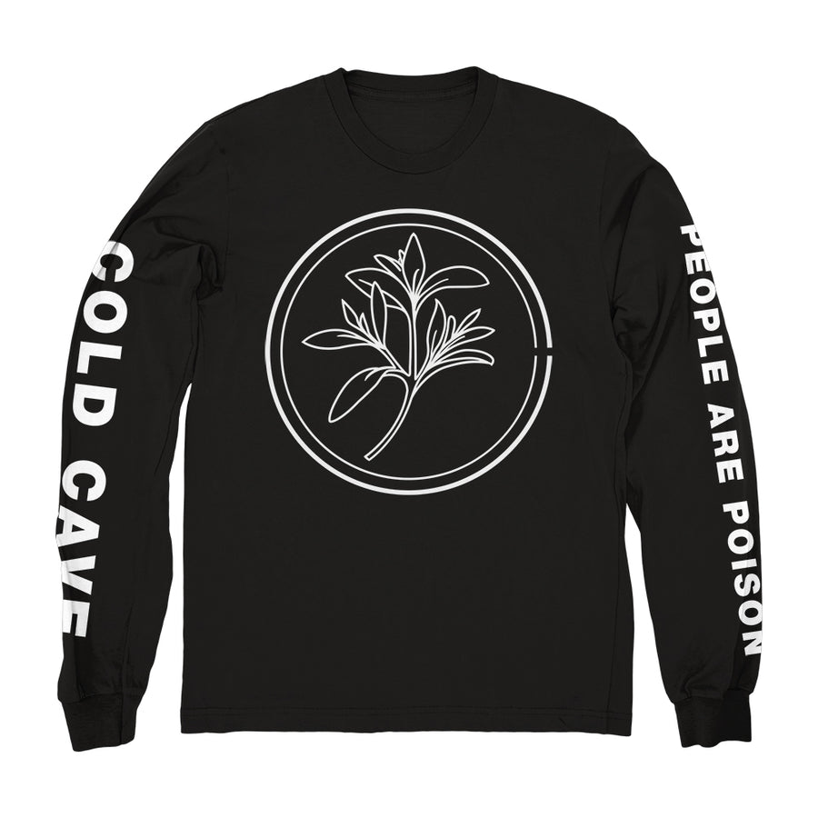 "COLD CAVE ""People Are Poison"" Longsleeve"