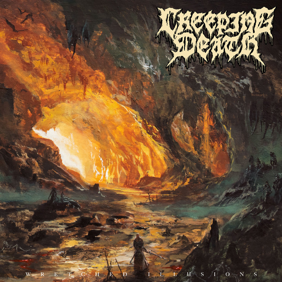 "CREEPING DEATH ""Wretched Illusions"" LP"