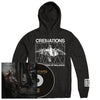 "CREMATIONS ""Dissolution Of Balance"" CD + Hoodie Bundle"