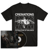 "CREMATIONS ""Dissolution Of Balance"" CD + T-Shirt Bundle"