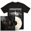 "CREMATIONS ""Dissolution Of Balance"" LP + T-Shirt Bundle"