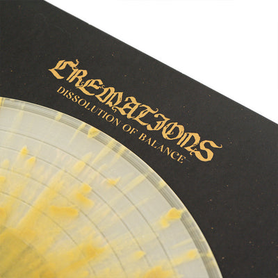 "CREMATIONS ""Dissolution Of Balance"" LP"