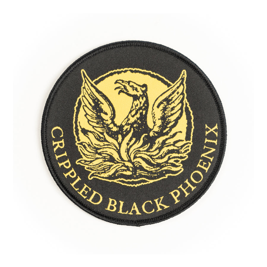 "CRIPPLED BLACK PHOENIX ""Logo"" Patch"