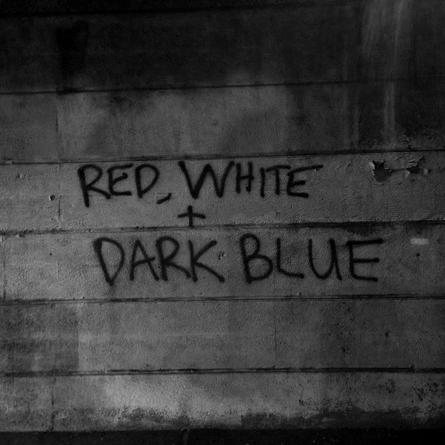 "DARK BLUE ""Red White"" LP"